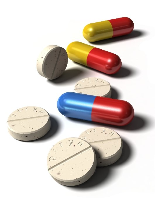 capsules and pills